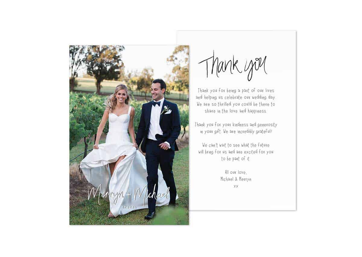 Rustic-Wedding-Photo-Thank-You-Card-MERRYN+MICHAEL-My-Lens-Of-Love