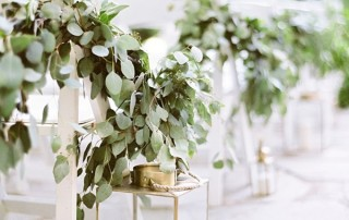 Greenery Wedding Decor Aisle Inspiration Coco Tran Photography