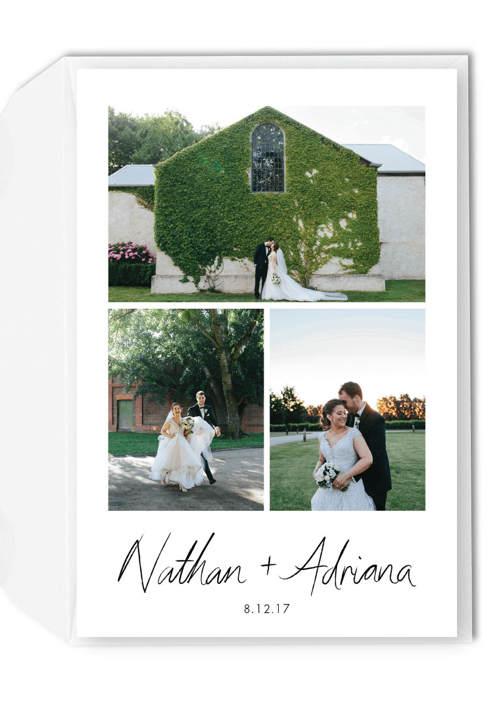 5 Thank You Card Wording Ideas for Guests Who Didn't Attend For the Love of Stationery Selena McLaren Photography
