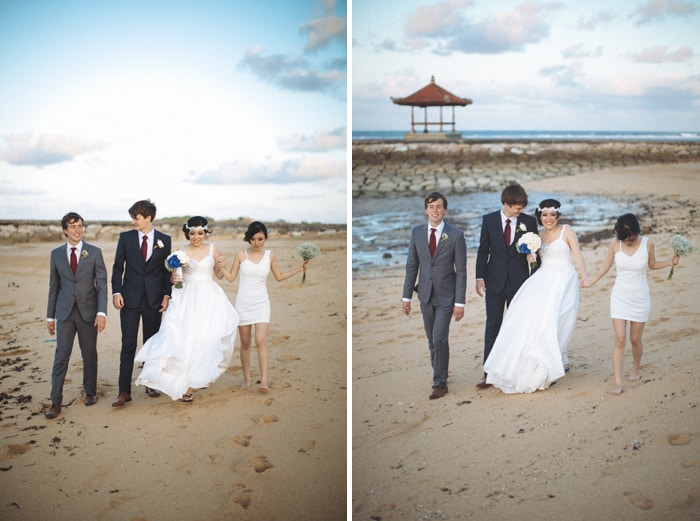 Beach Wedding Bali Stefie Torstein Evermotion Photography