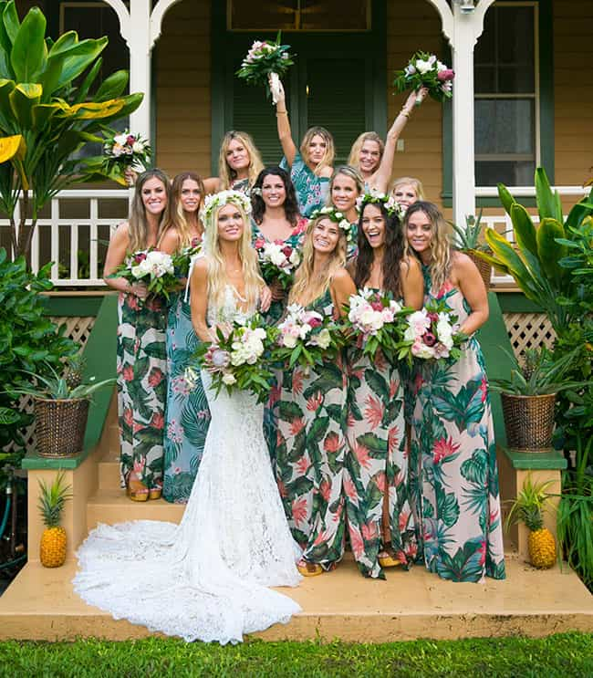 Beach Wedding Tropical Bridesmaid Dresses Show Me Your Mumu