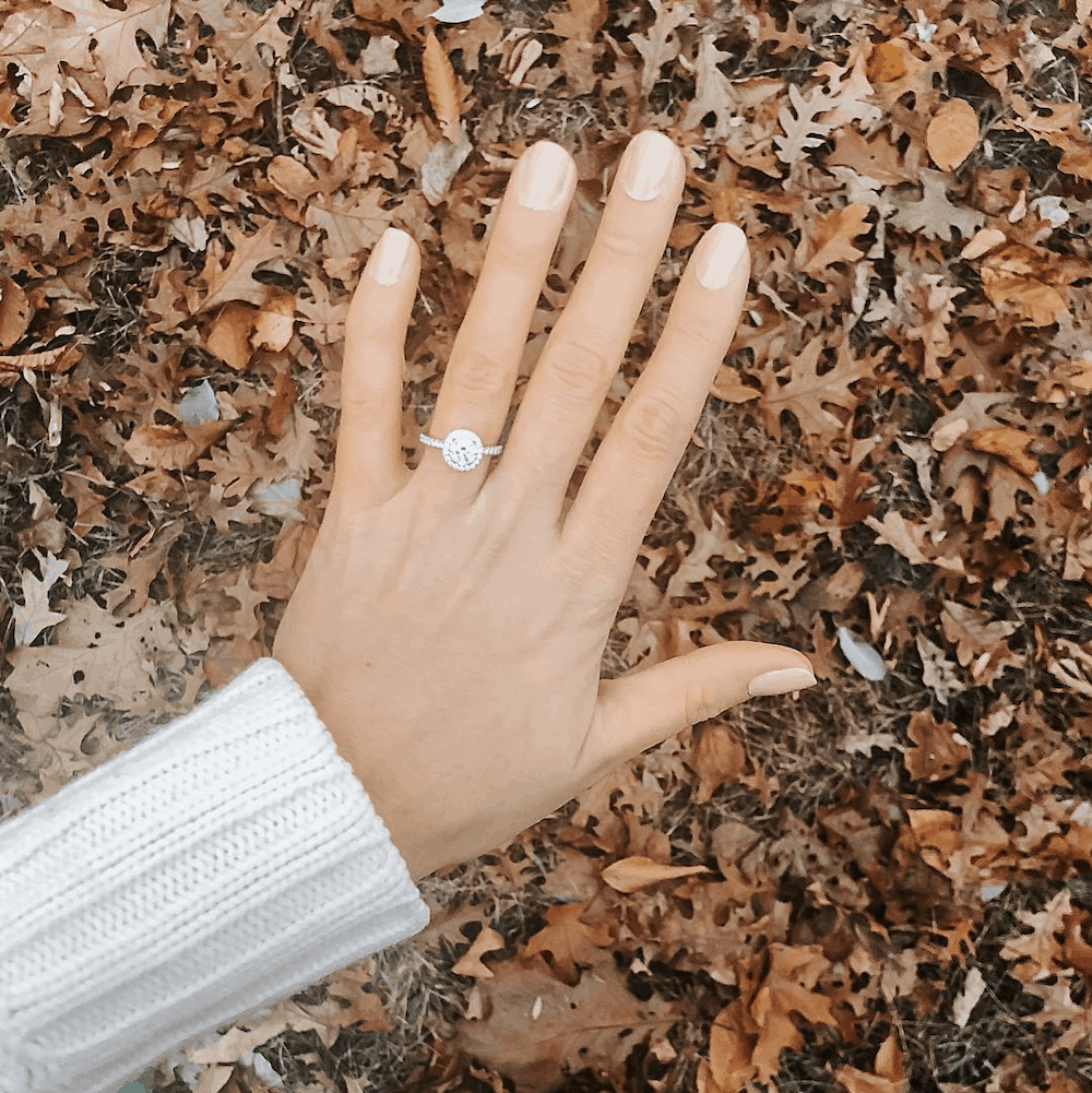 Best Fall Proposal Ideas James Allen Ring Diamond Engagement and Wedding Rings