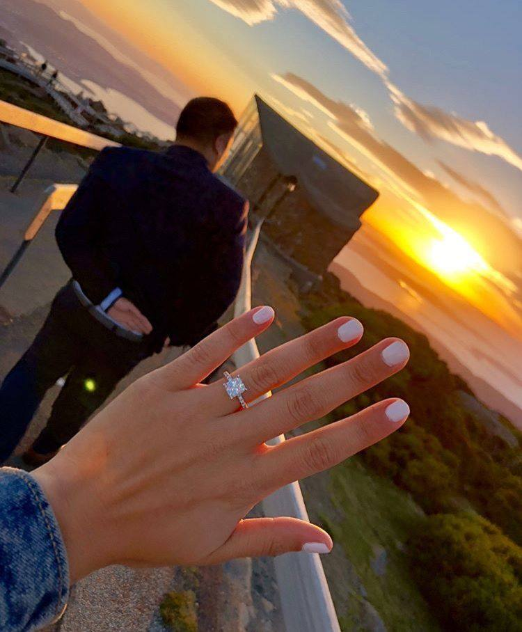 Best Sunset Proposal Ideas Diamond Engagement and Wedding Rings James Allen Ring