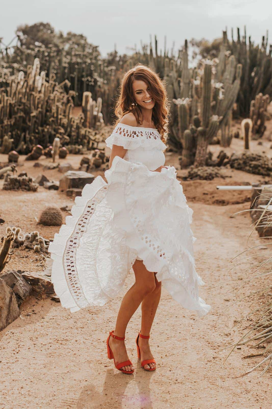 Bohemian Wedding Dress Inspiration French Lace Bridal Gowns Handmade by Grace Loves Lace Coco