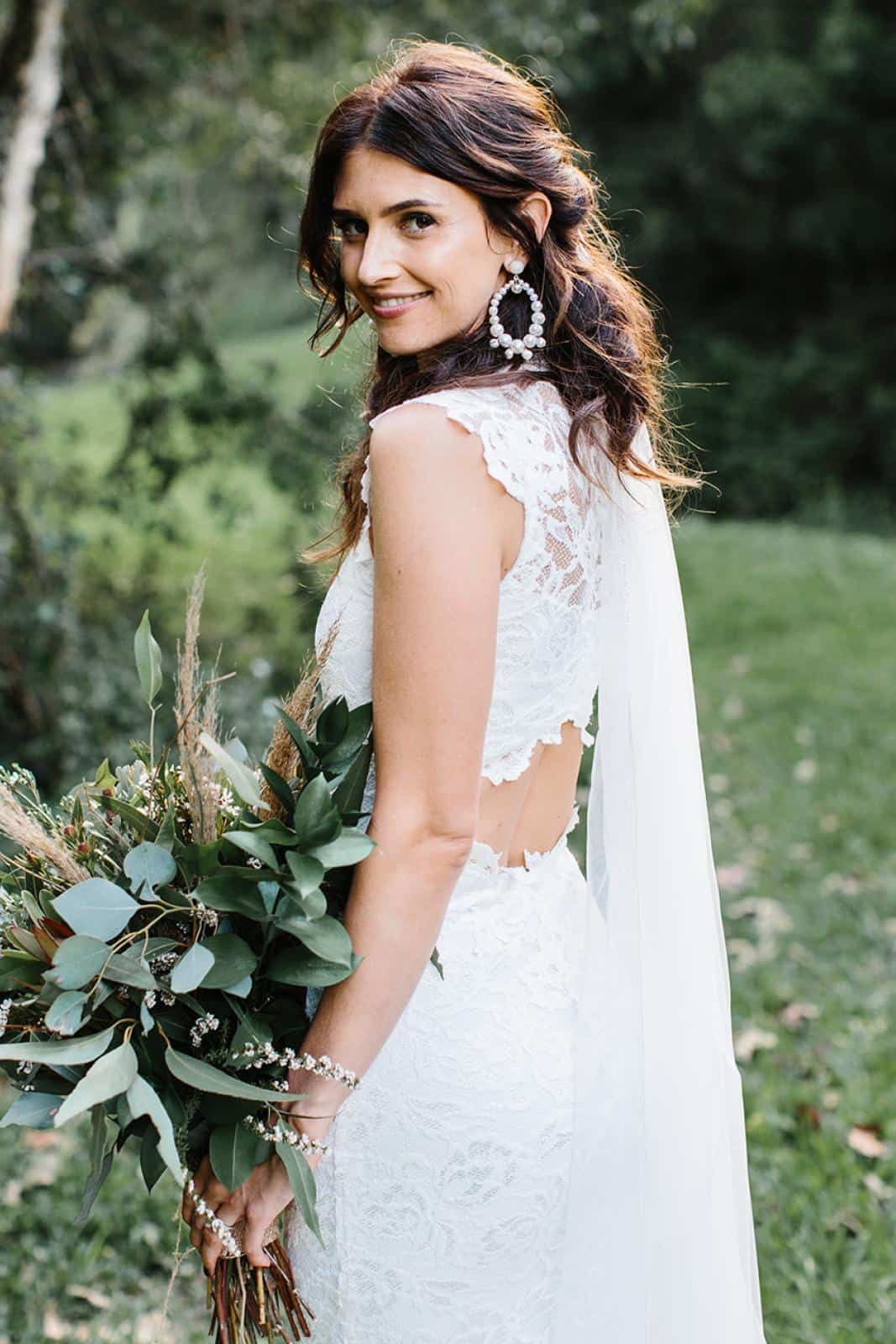 Bohemian Wedding Dress Inspiration French Lace Dresses Handmade by Grace Loves Lace Renata