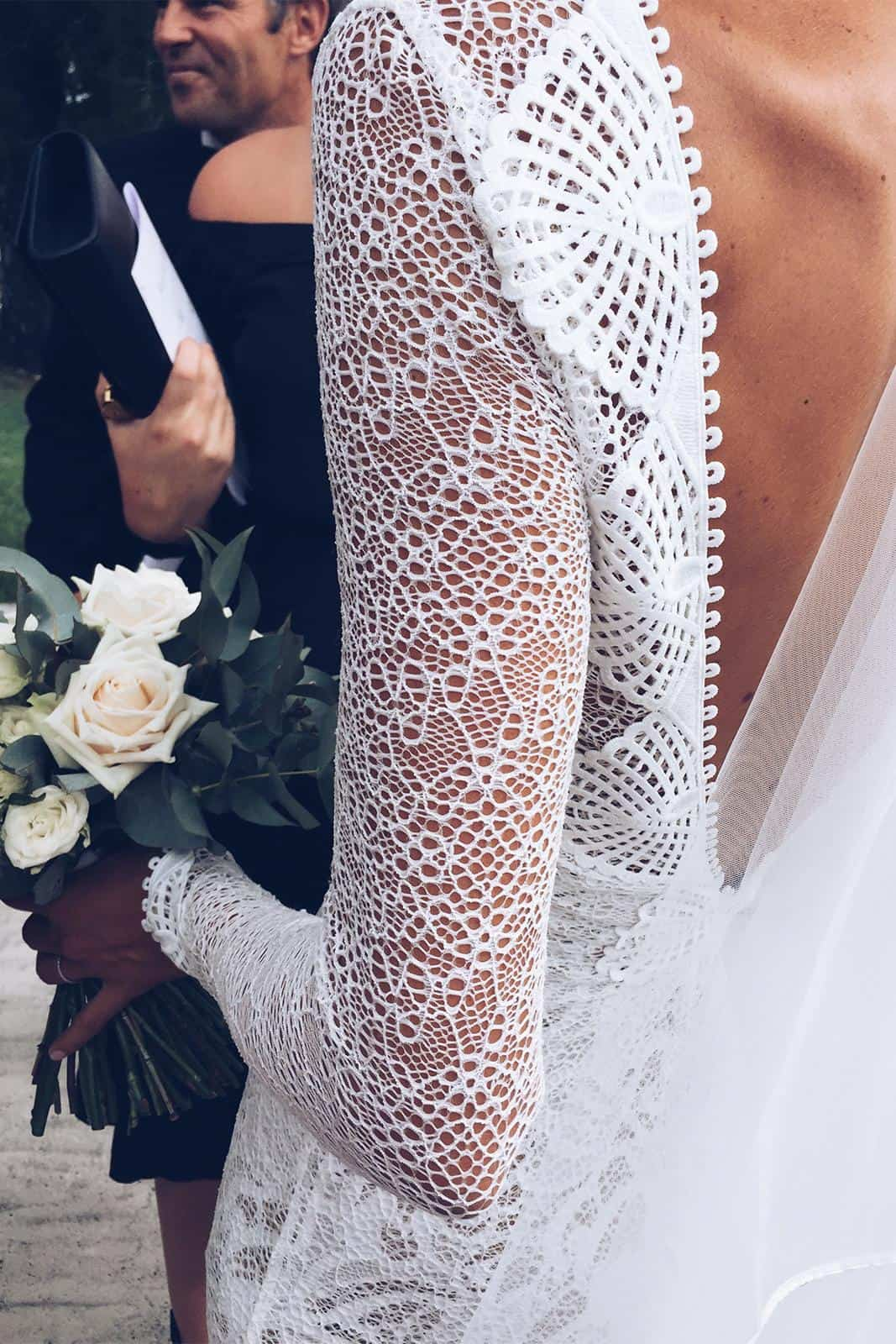 Bohemian Wedding Dresses Inspiration French Lace Dresses Handmade by Grace Loves Lace Mai