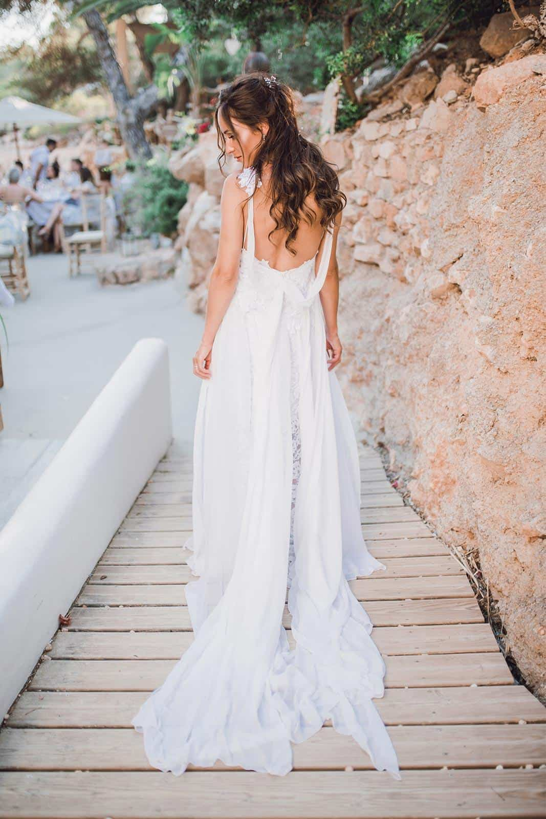 Boho Wedding Dress Inspiration French Lace Detail Dresses Handmade by Grace Loves Lace Hollie 2.0