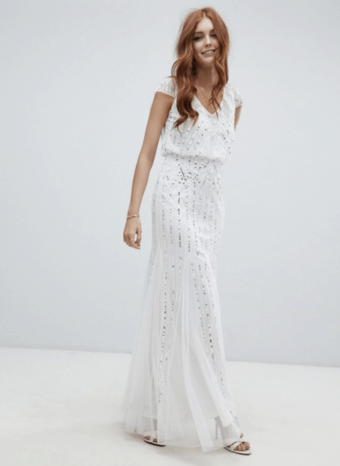 c619166bc315 Cheap Affordable Bridal Gown and Wedding Dresses Amelia Rose 2-in-1 Embellished  Wedding