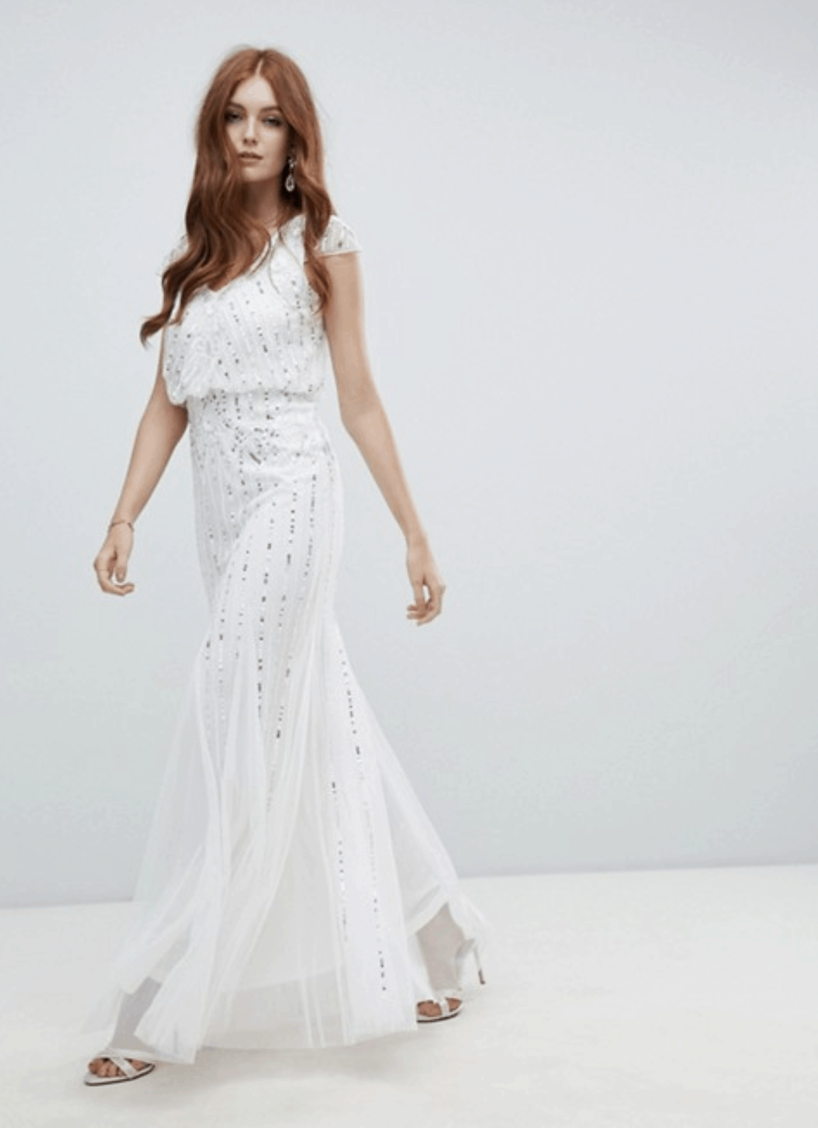 04724ea1f03c Cheap Affordable Bridal Gowns and Wedding Dress Amelia Rose 2-in-1 Embellished  Wedding