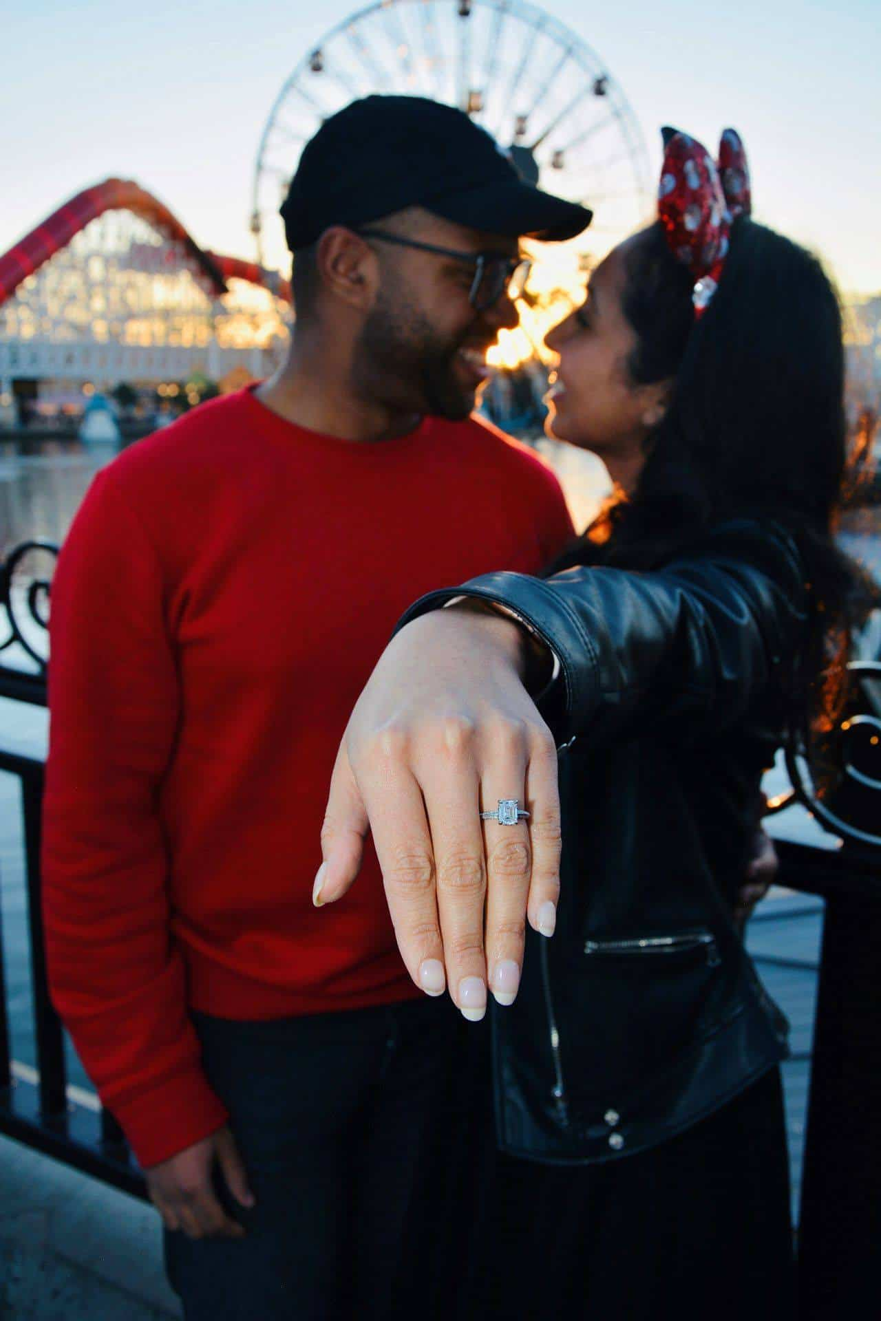 Cutest Disney Proposal Ideas James Allen Ring Diamond Engagement and Wedding Rings