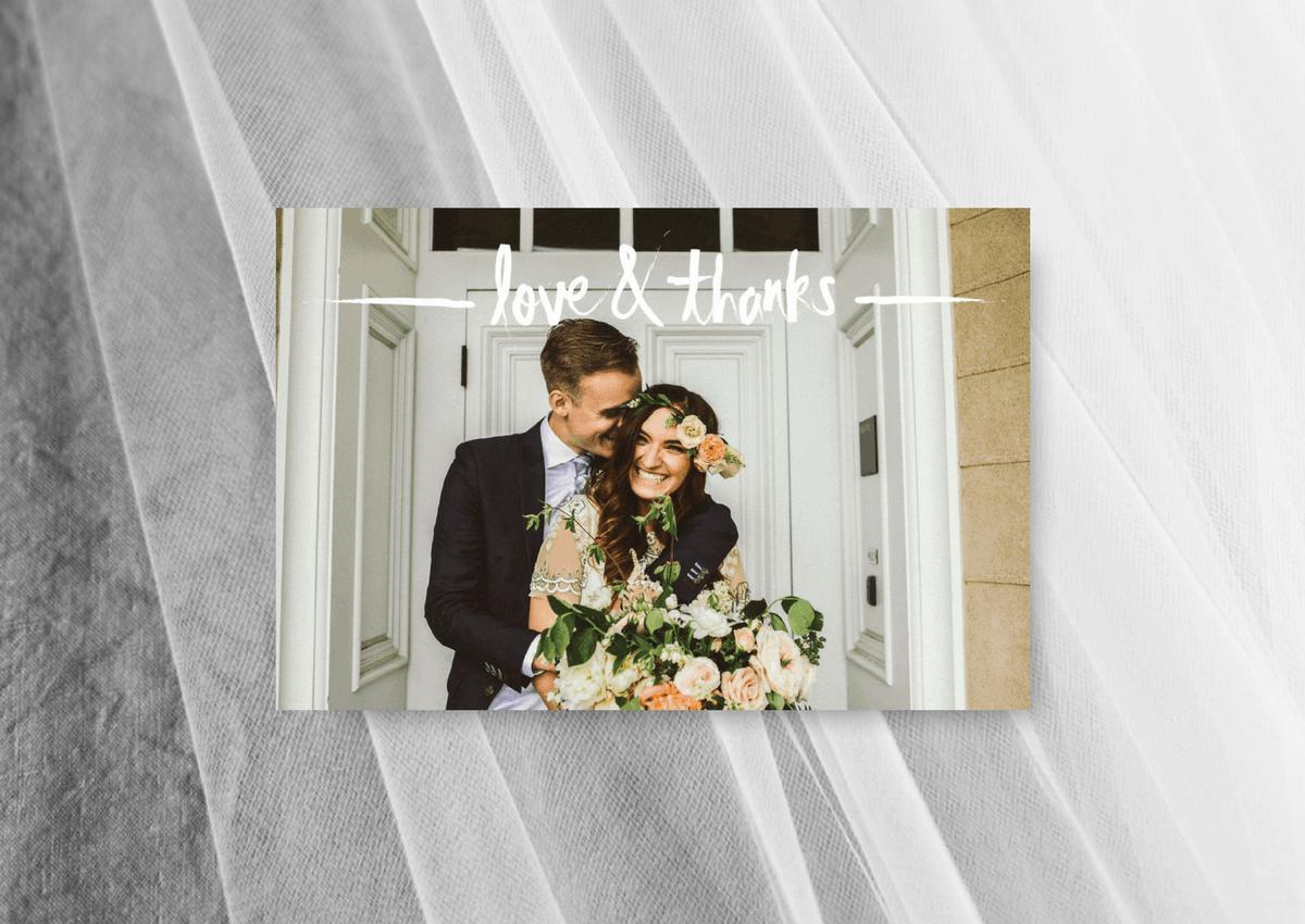 Thank You Cards Wedding Sydney