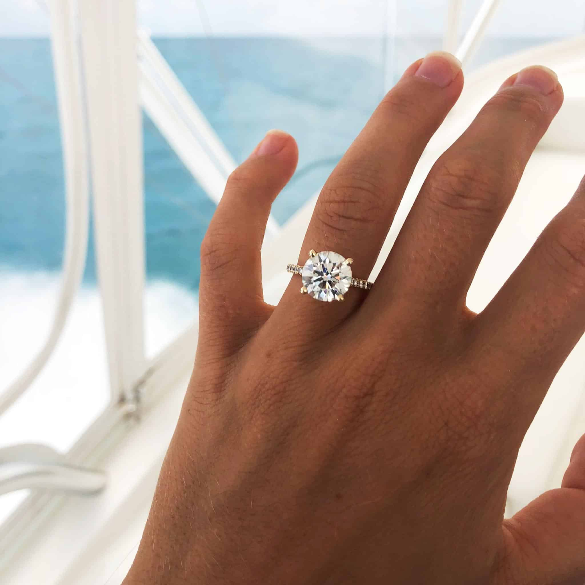 Diamond Engagement and Wedding Rings Best Summer Proposal Ideas James Allen Rings