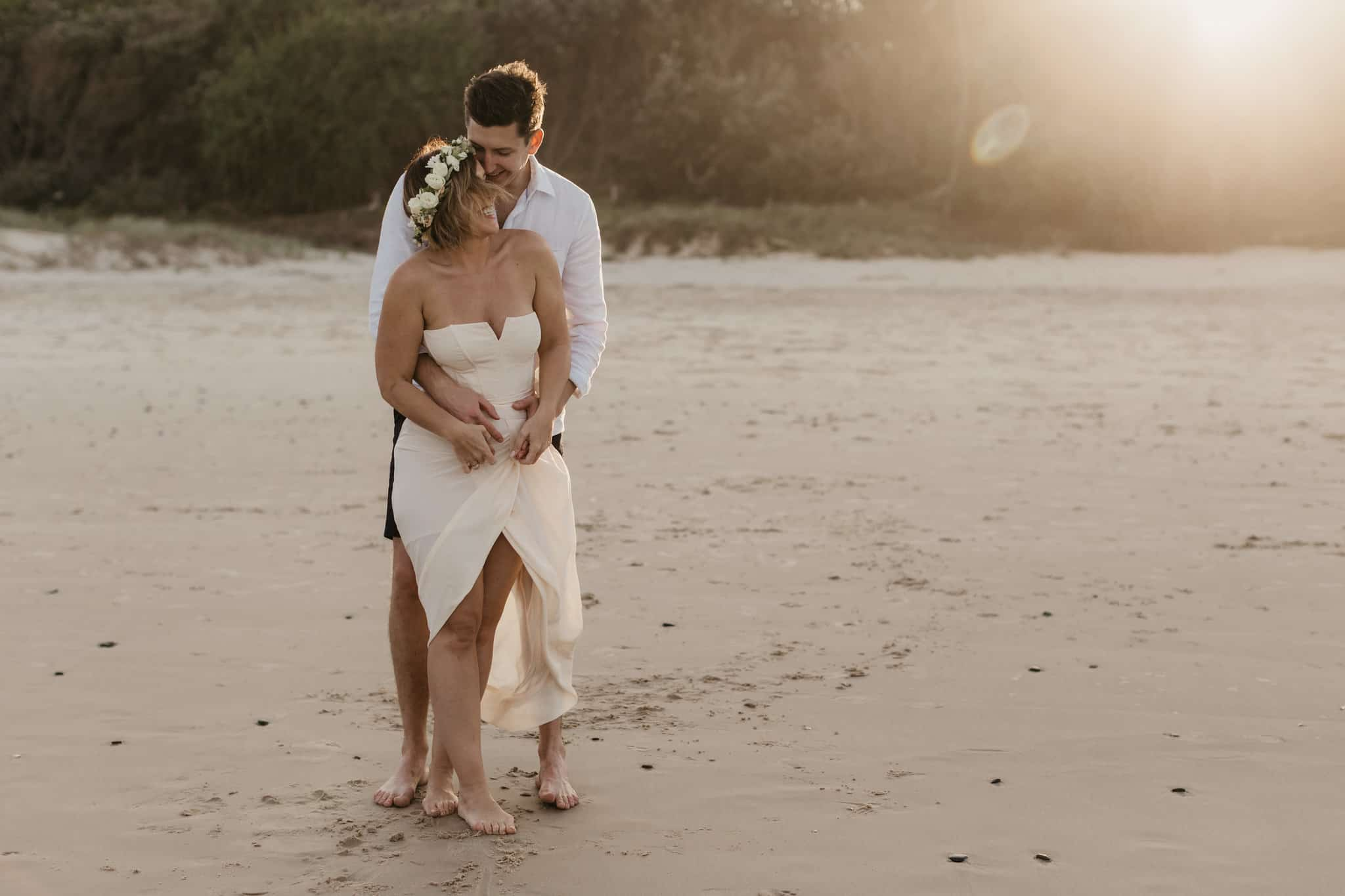 Elopement Ideas Intimate Beach Wedding Byron Bay Weddings Stories by Ash