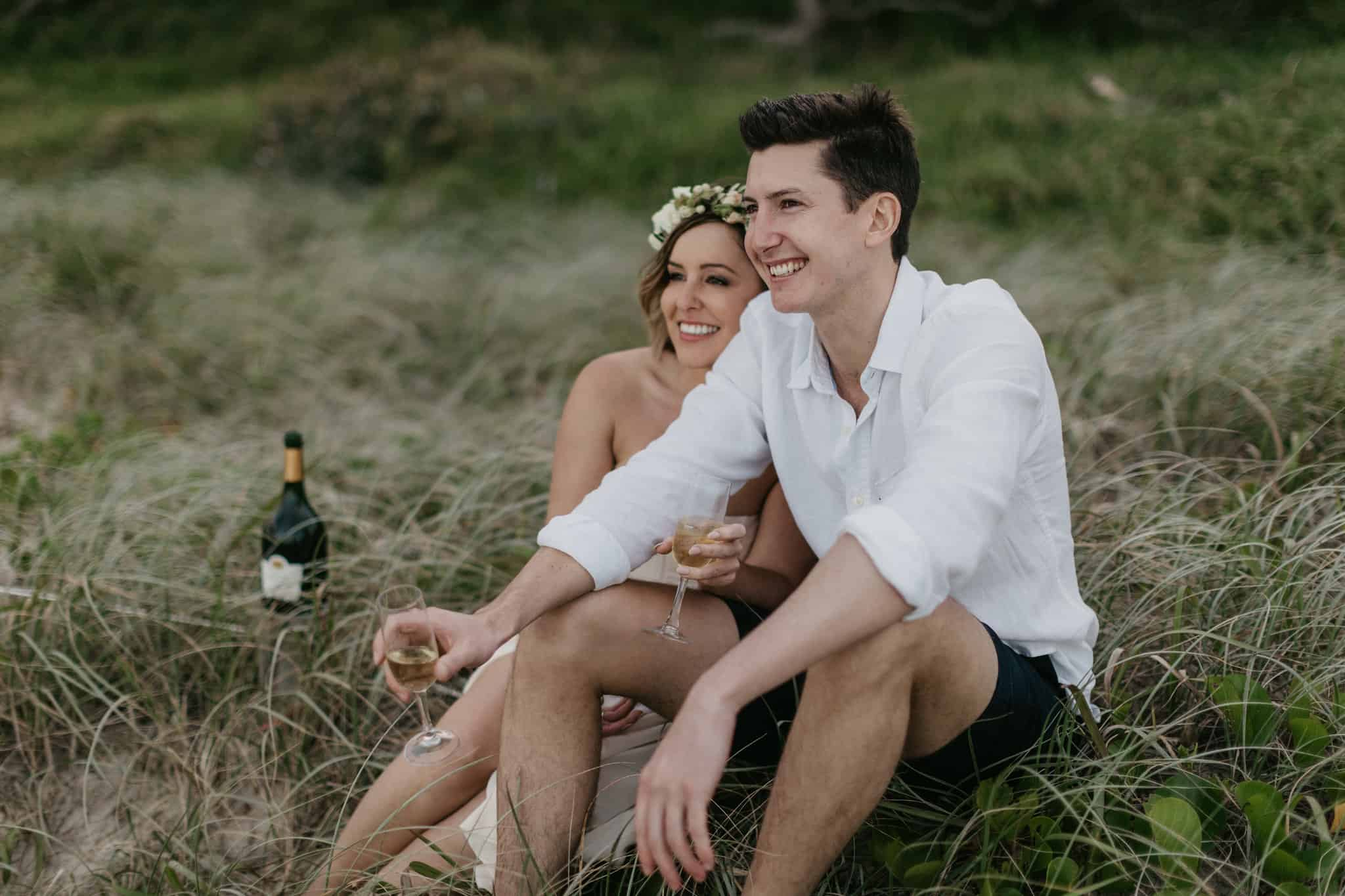 Elopement Ideas Intimate Rustic Wedding Byron Bay Weddings Stories by Ash