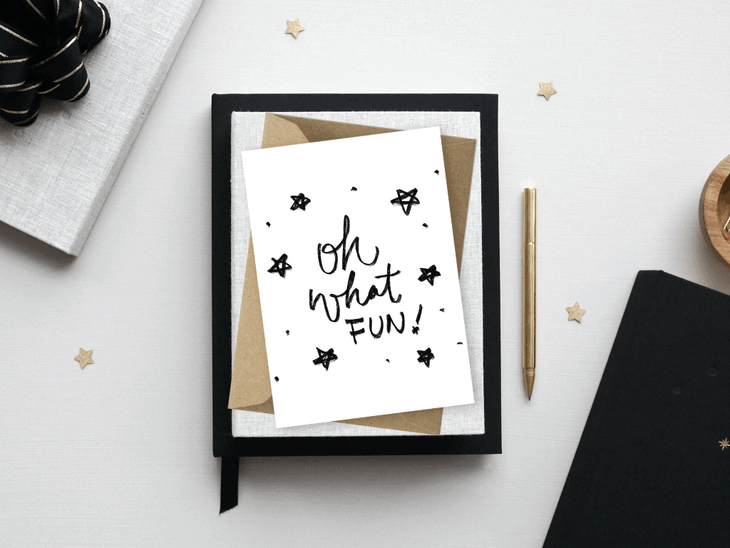 Free Christmas Card Template Printables Oh What Fun