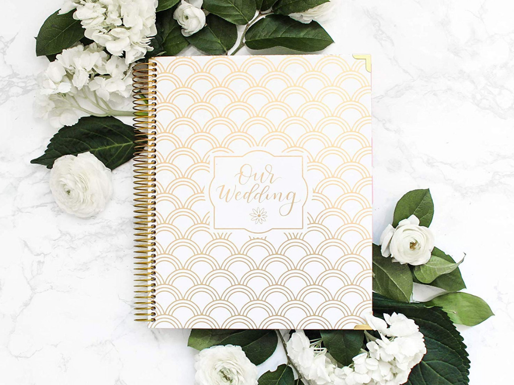 Gold Foiling Wedding Planner Bridal Organizers Gorgeous Wedding Journals