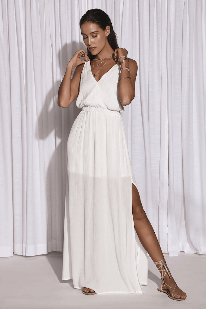 Perfect Summer Outfits for the Beach White Maxi Dress Sun Dresses 2