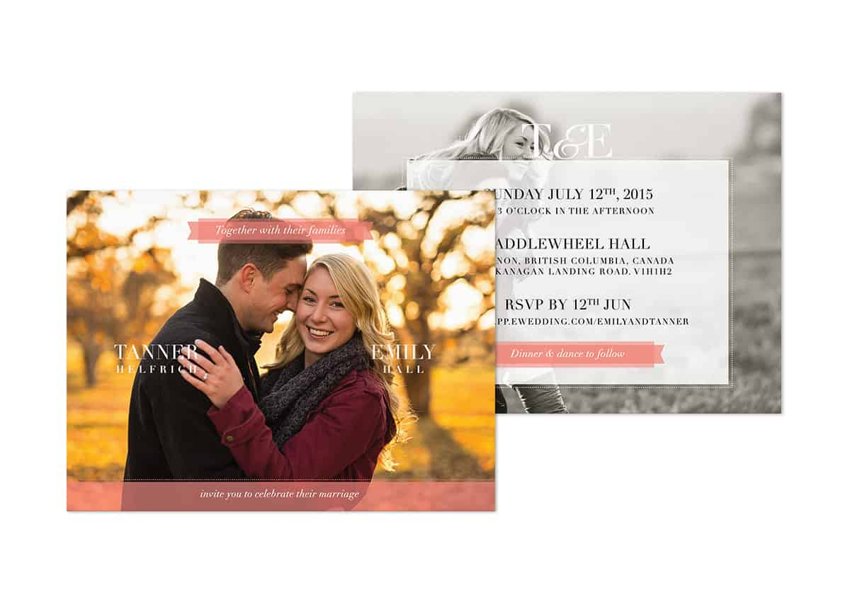 Photo-Wedding-Invitation-Card-TANNER+EMILY