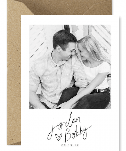 Wedding Photo Save the Dates Sydney Australia For the Love of Stationery