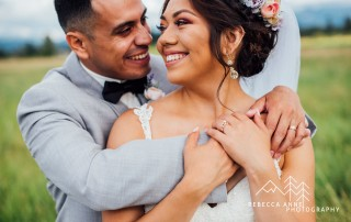 Rebecca & Kevin Rose Gold Wedding at Mountain View Manor Rebecca Anne Photography