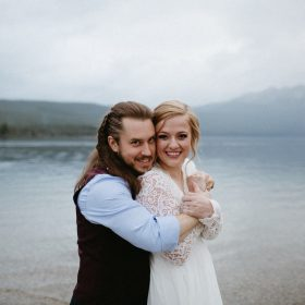 Redfish Lake Idaho Elopement Caitlin and Brandon's Wedding Christine Marie Photography Simply Eloped 7