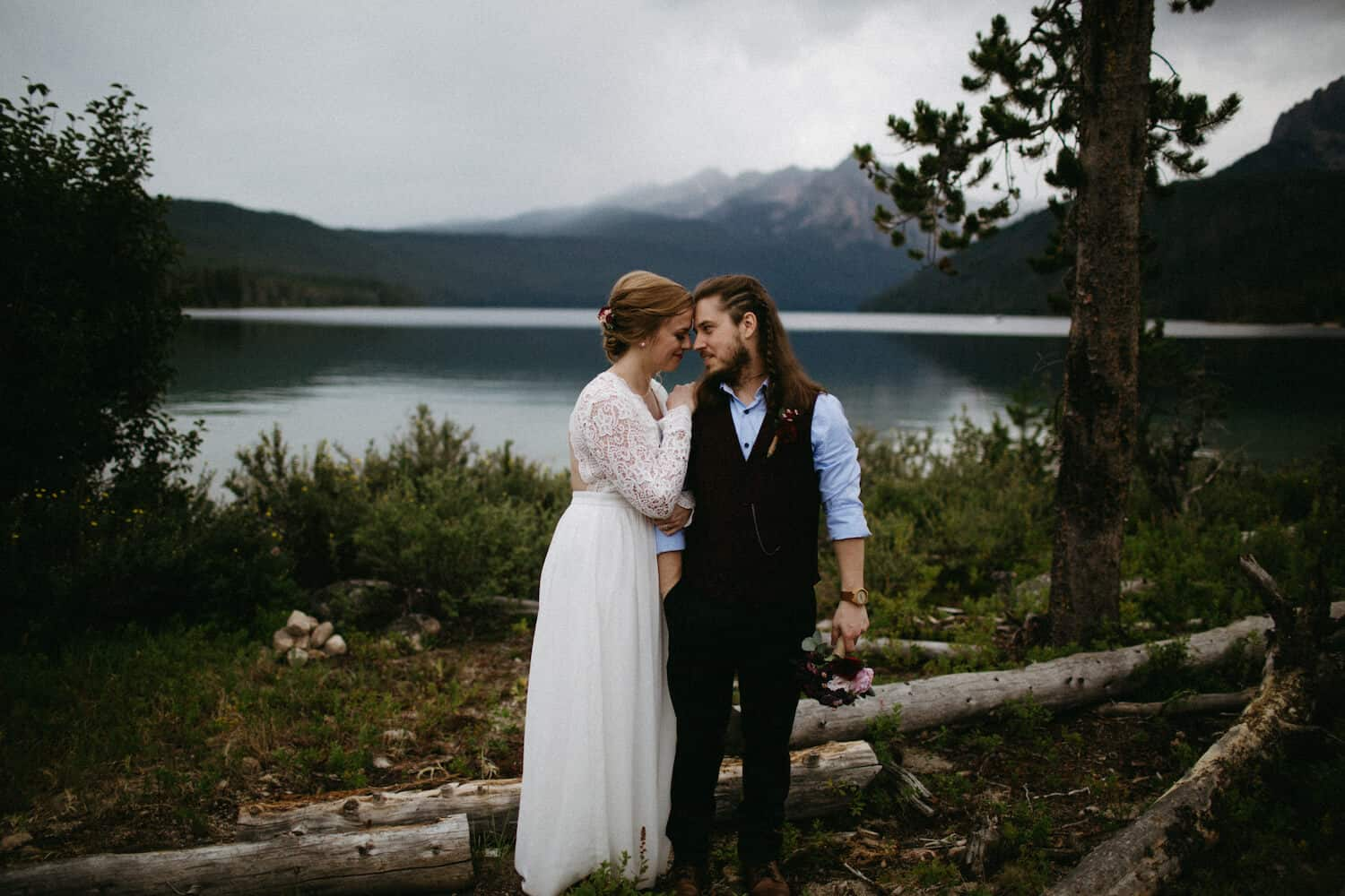 Redfish Lake Idaho Elopement Caitlin and Brandon's Wedding Christine Marie Photography Simply Eloped 8