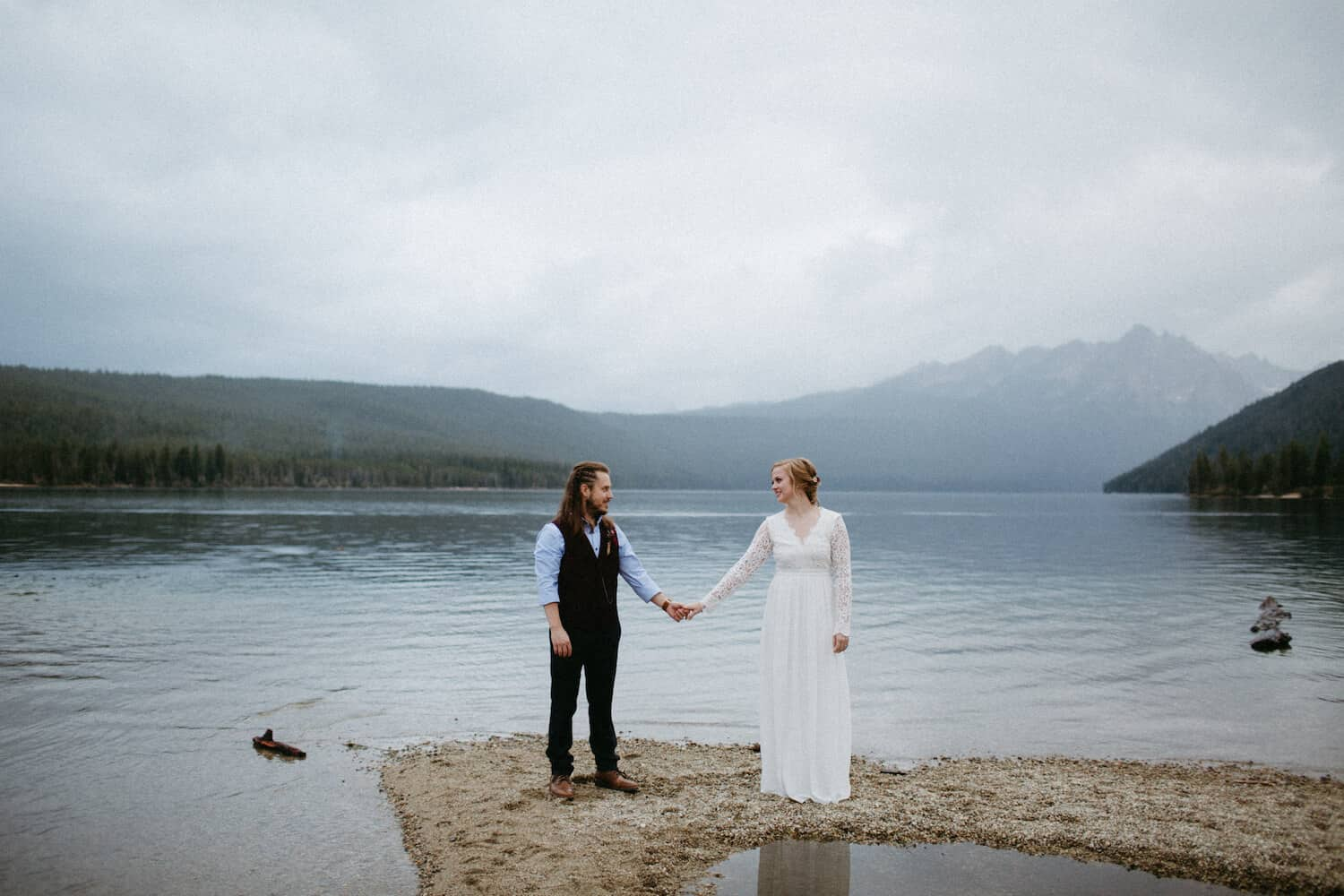Redfish Lake Idaho Elopement Caitlin and Brandon's Wedding Christine Marie Photography Simply Eloped 9