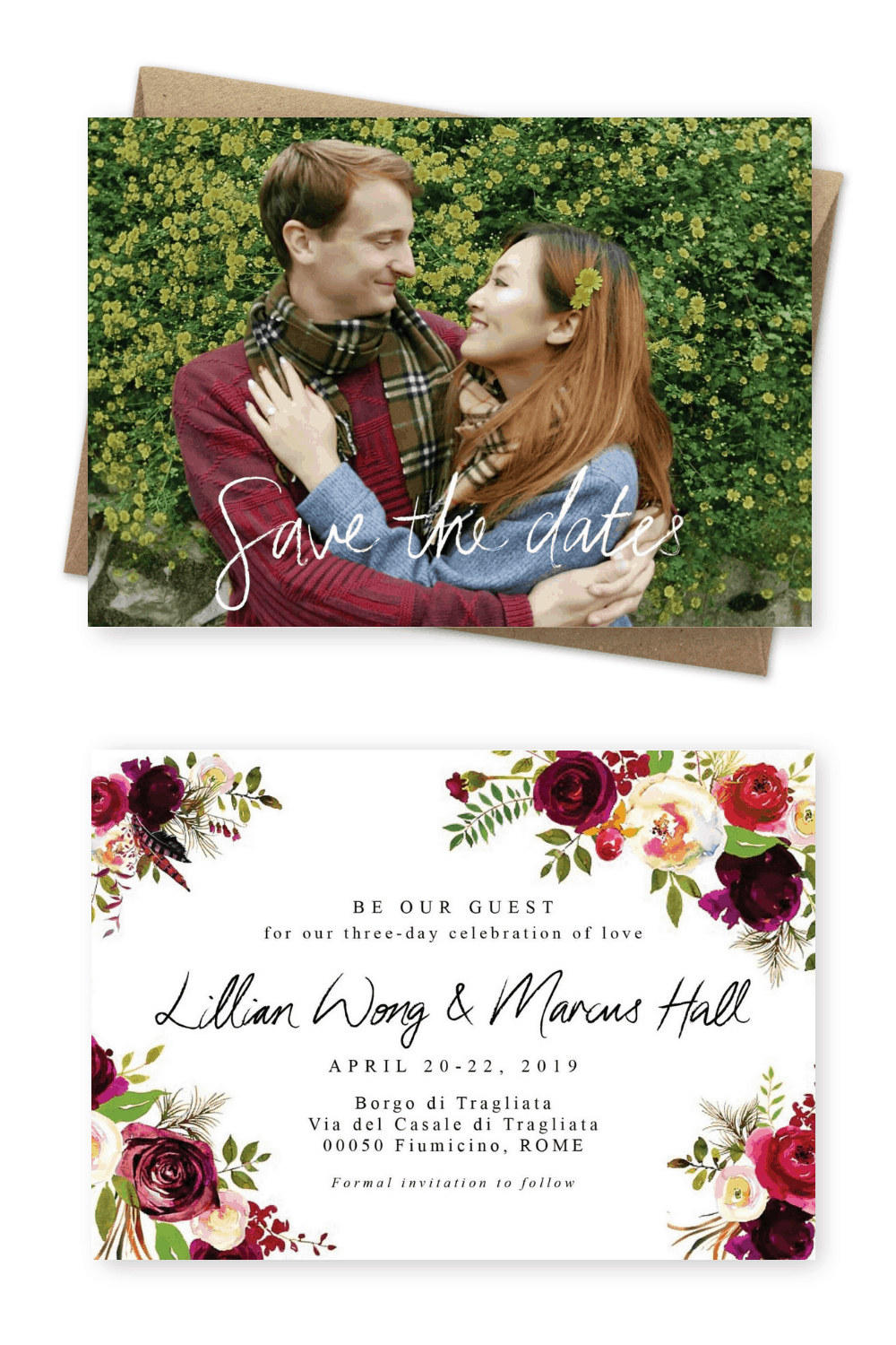 Save the Dates Australia Beautiful Photo Save the Dates For the Love of Stationery
