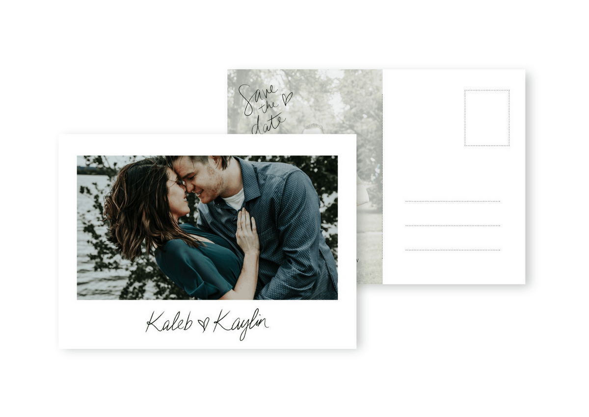 Save the Dates Wedding Sydney Photo Save the Date Postcards For the Love of Stationery