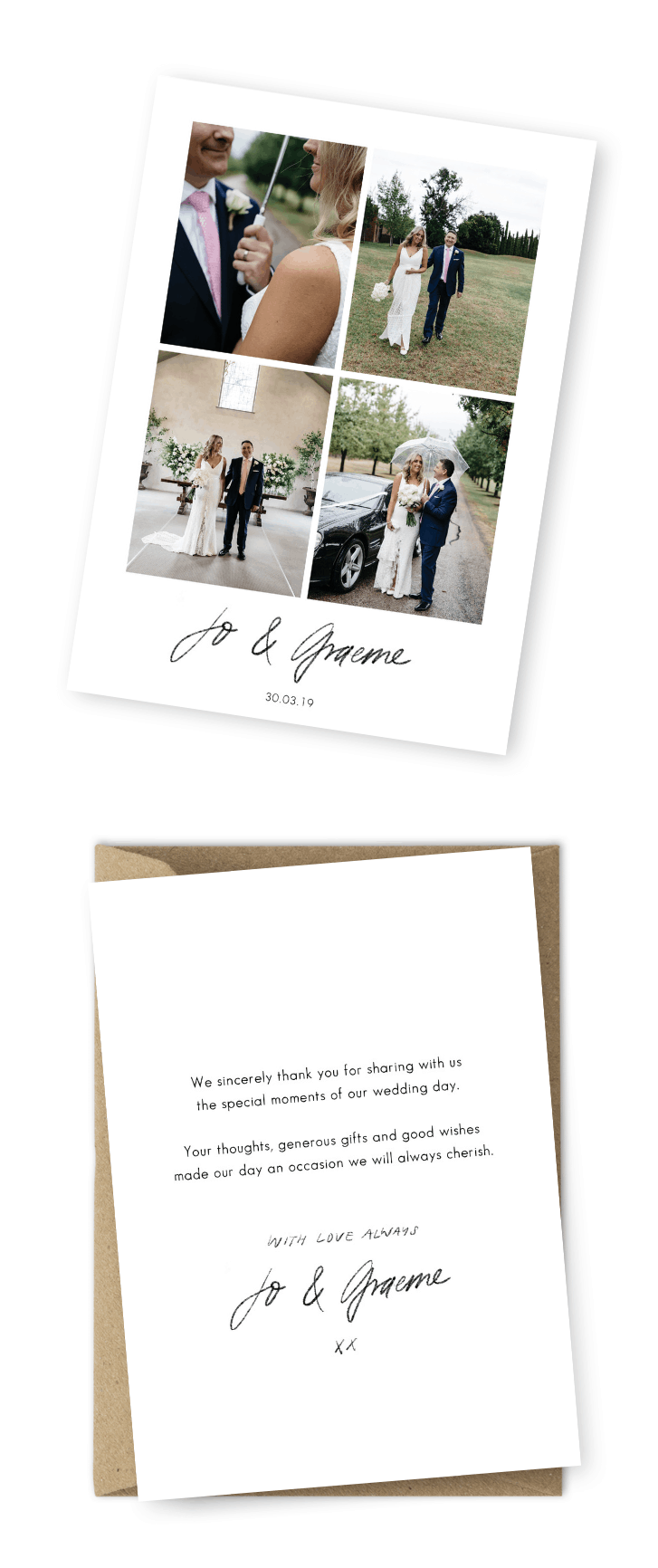 Wedding Card Wishes.7 Wording Ideas For Your Wedding Thank You Cards