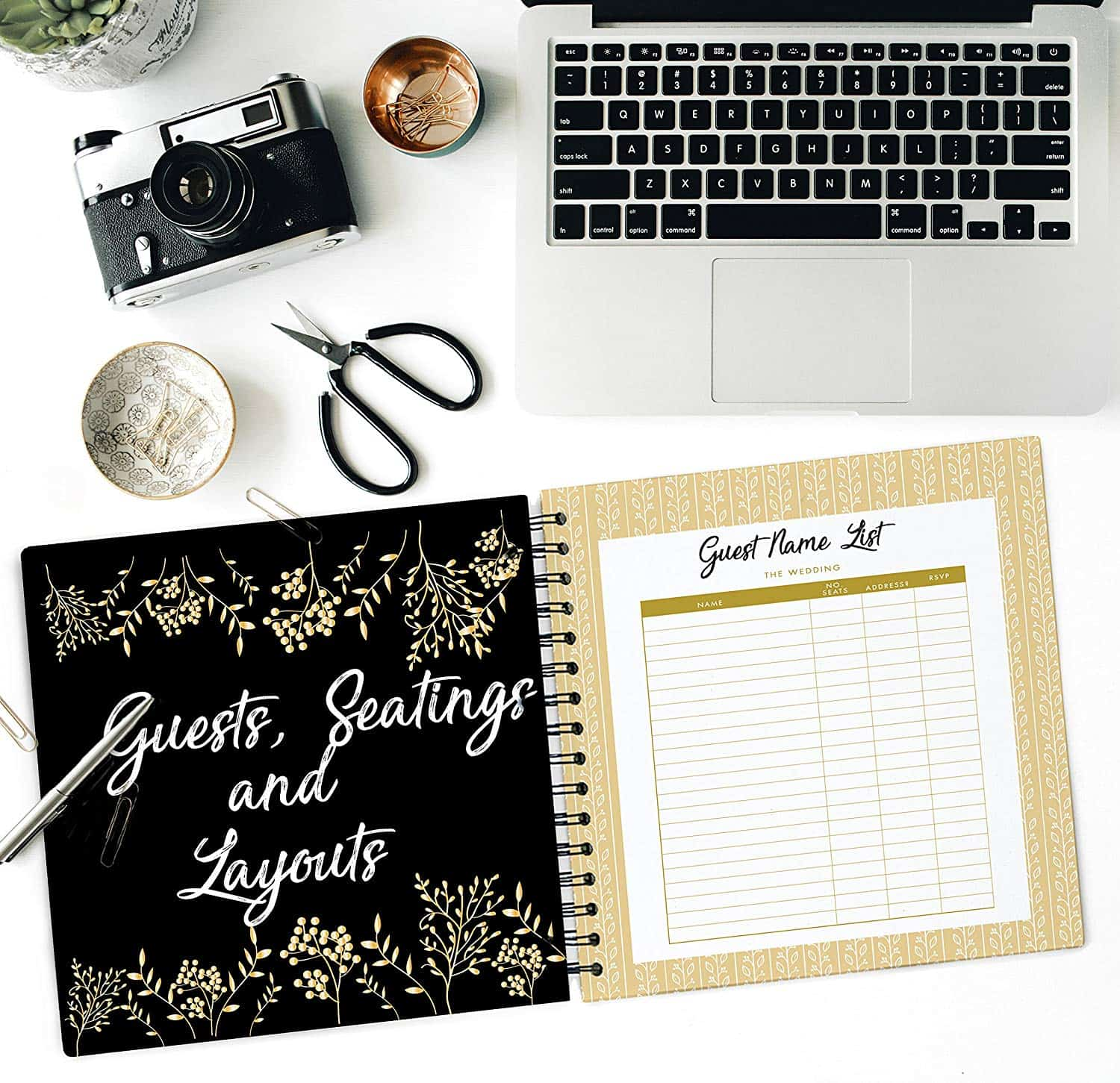 The Ultimate Wedding Planner Books and Organizers for Brides Engagement Gift Bridal Planner Complete Checklist