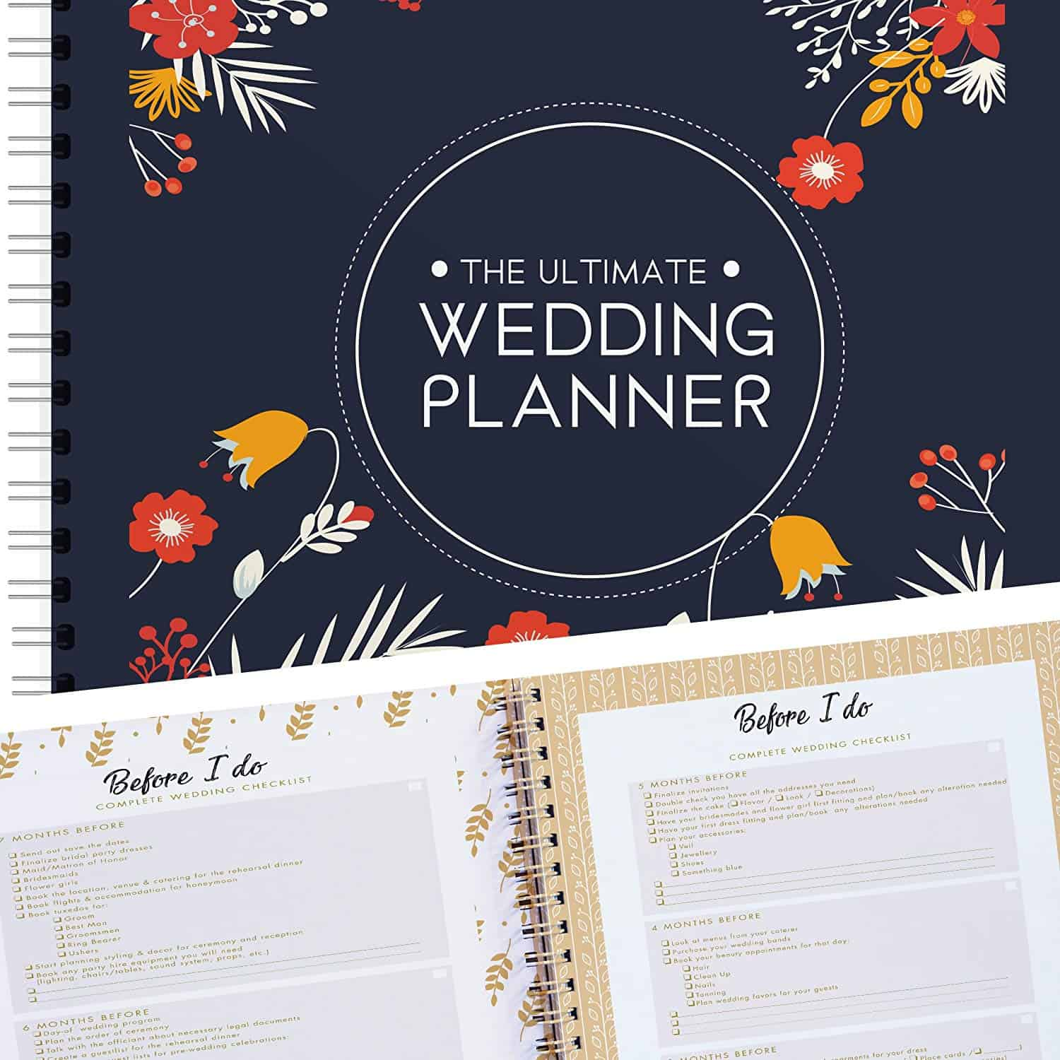 The Ultimate Wedding Planner Organizer and Complete Checklist for Brides Engagement Gift Bridal Planner