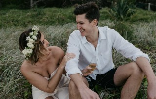 To Elope or Not To Elope Intimate Beach Wedding Byron Bay Weddings Stories by Ash