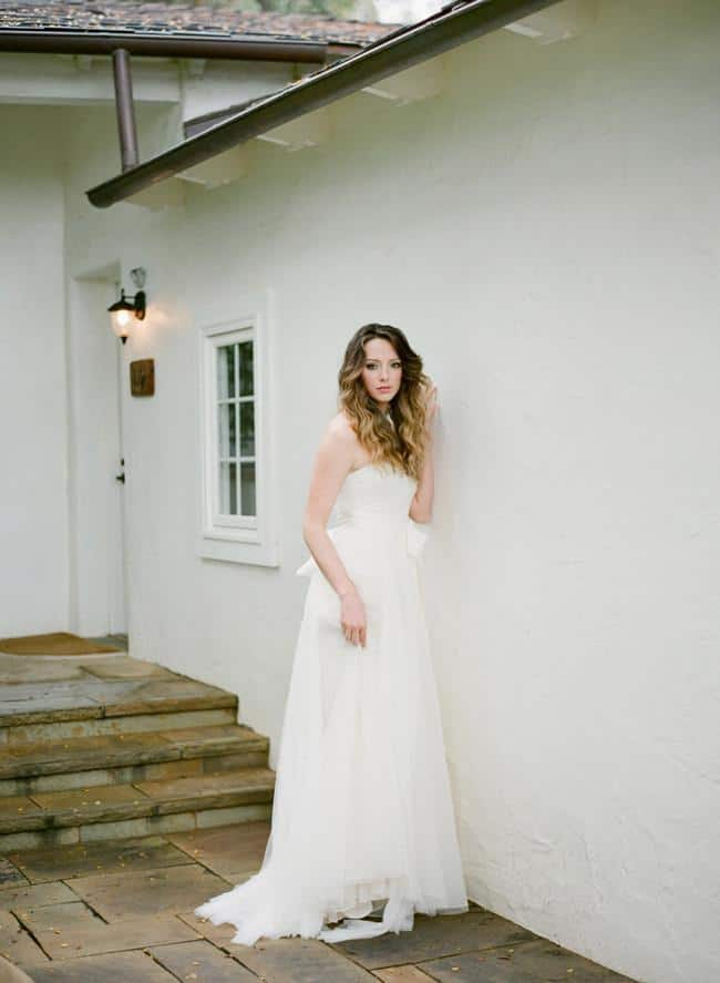 Vera Wang Silk Strapless Wedding Dresses and Bridal Gowns Under $1500