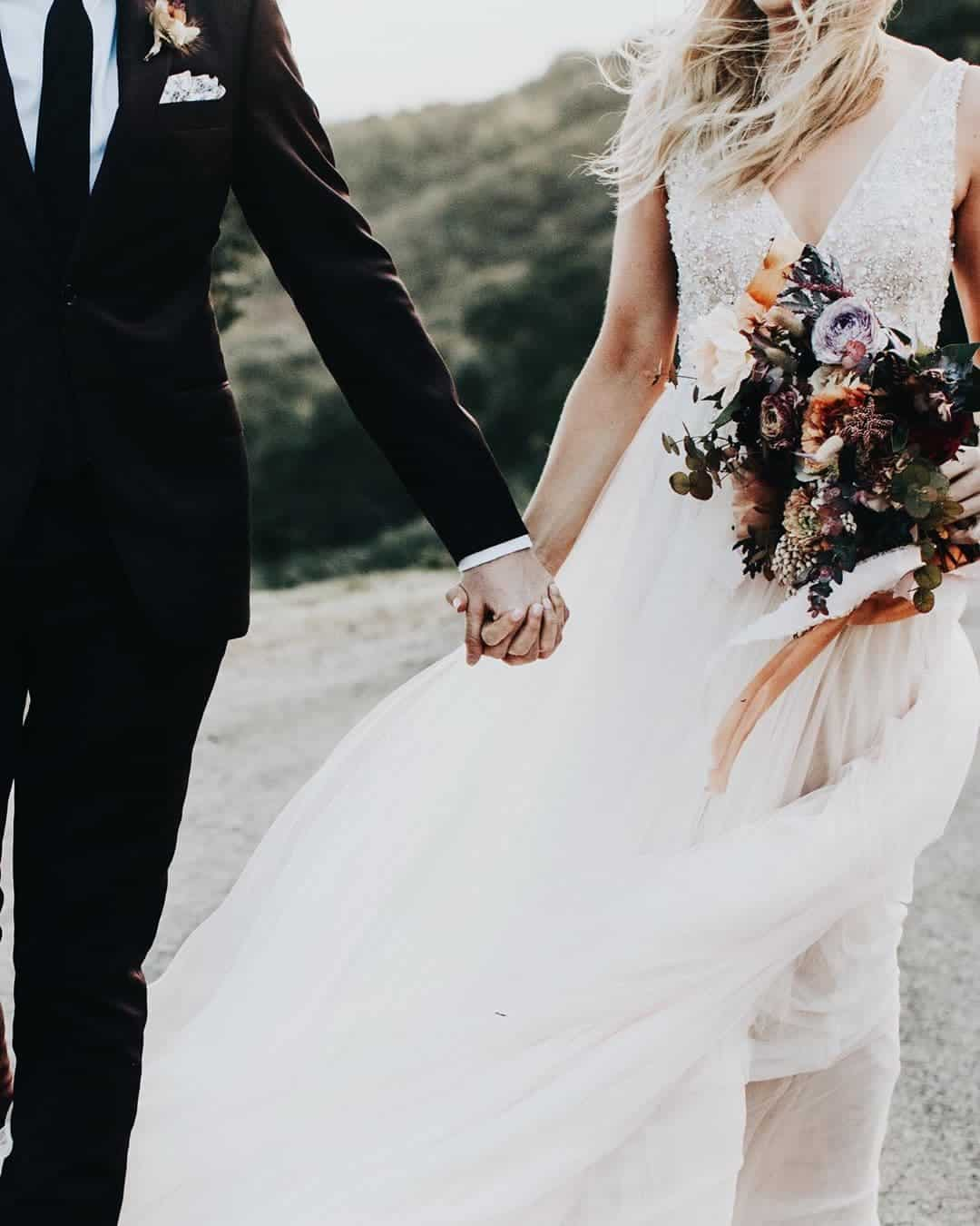 Vintage Inspired Wedding Dresses Glitter Tulle Sequin Backless Bohemian Bridal Gown BHLDN Alexandra Wallace Photography 2