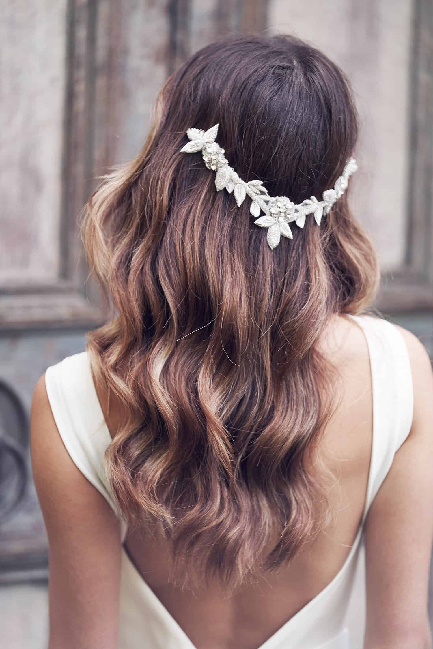 Vintage Style Headpieces Sparkle Bridal Headpiece Wedding Hair Accessories Anna Campbell OLIVE