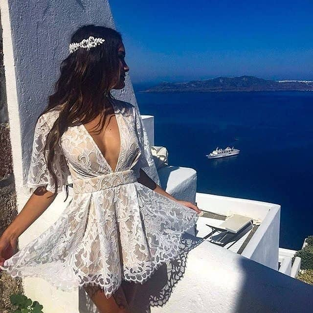 Wedding Guest Outfits Blush Lace Playsuit What to Wear to a Wedding as a Guest
