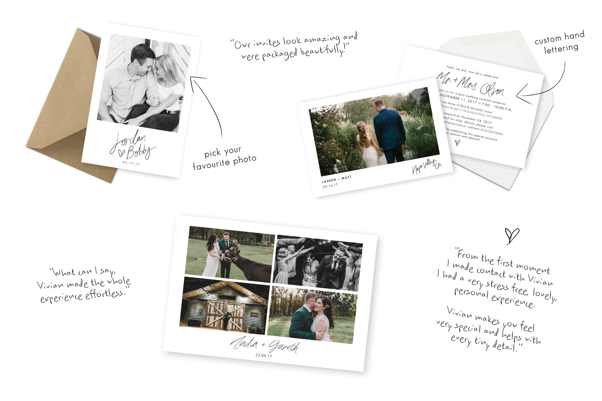 Services – Gorgeous Personalised Elopement Announcements, Intimate ...