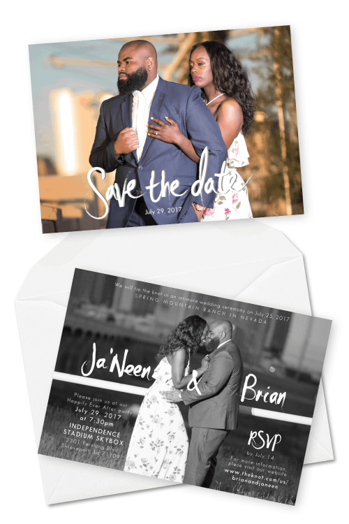 Wedding Save the Date Cards Photo Save the Date Postcard For the Love of Stationery 2