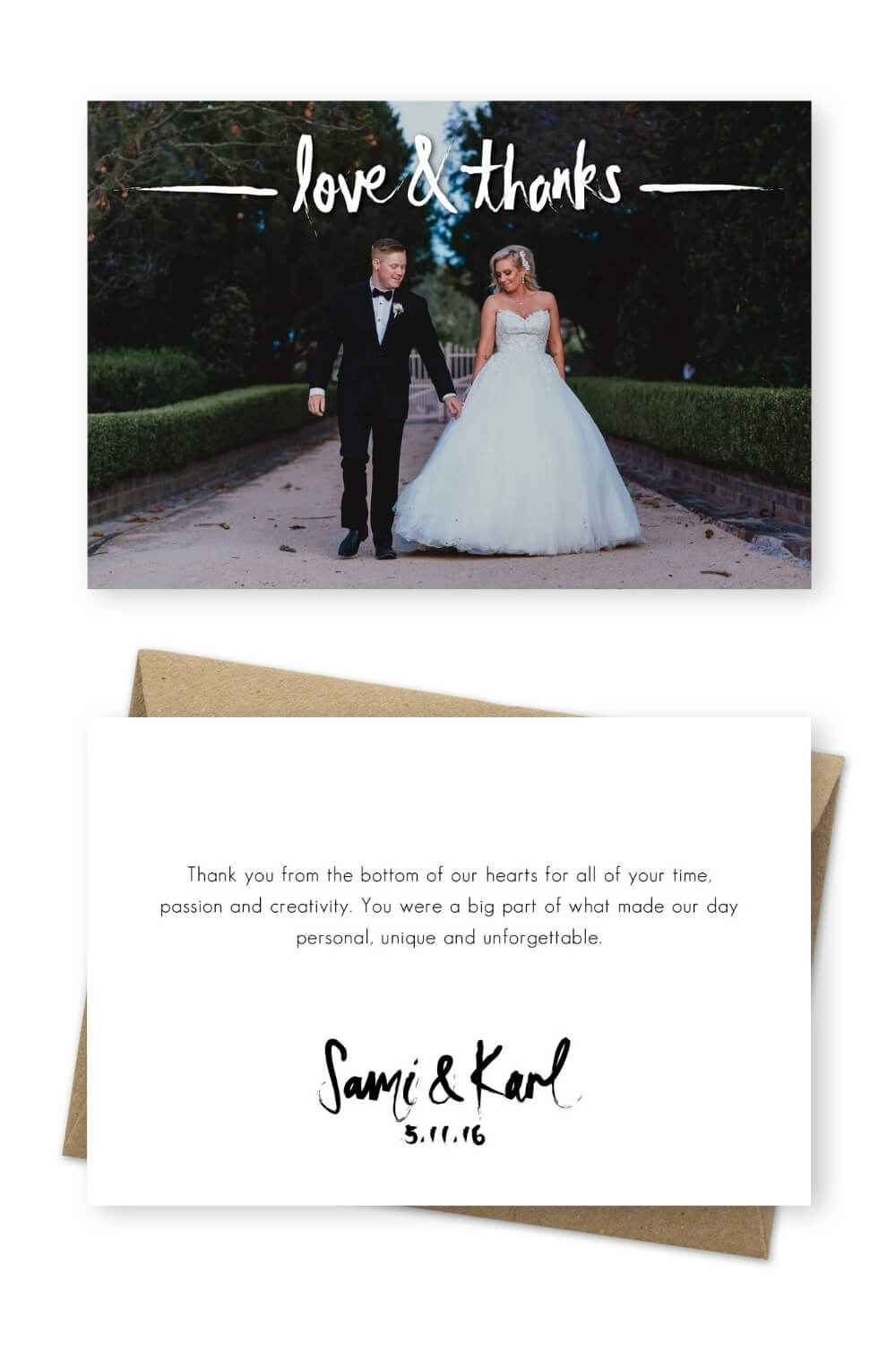 Wedding Thank You Verbiage Ideas For the Love of Stationery Nicole Butler Photography