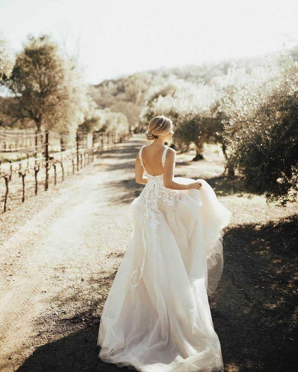 What to Wear When You Elope BHLDN Carmel Gown Christy Johnston Photography