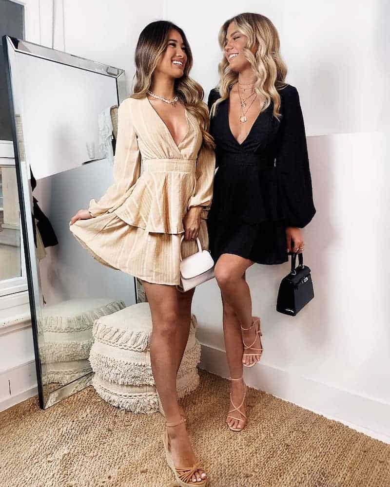 Winter Wedding Guest Outfits Beige Dress What to Wear to a Wedding as a Guest 2