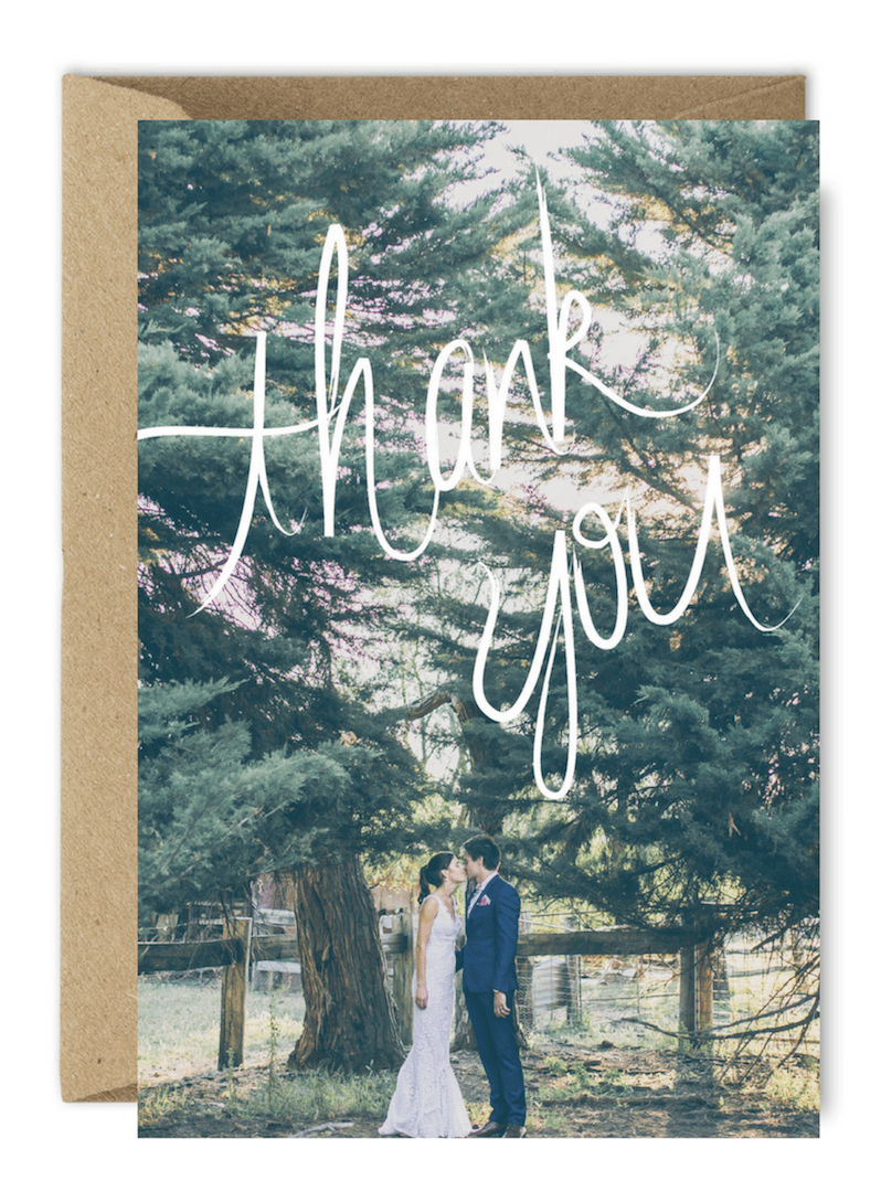 thank you card wording ideas for guests who didn't attend